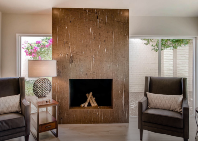 Chic Fireplace