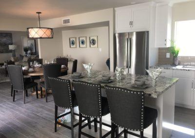 Beautiful Monotone Kitchen