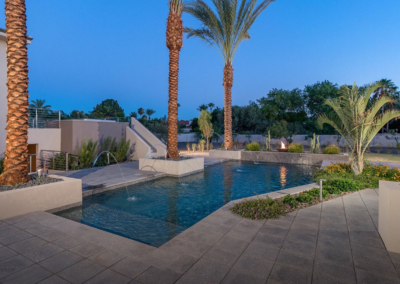 Custom-Designed Backyard