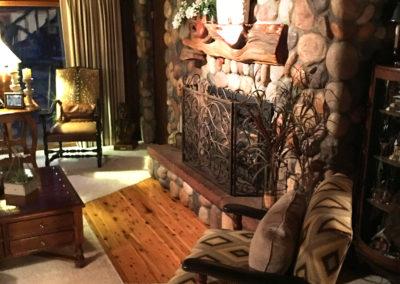 Rustic Chic Living Area