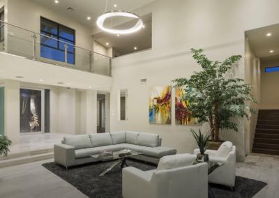 Custom-Built Living Room